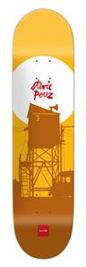 "Chocolate Crailtap Sun Series Perez Deck Size 8.25"""