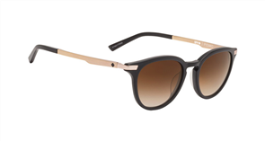 SPY Sunglass Pismo Matte Black /Rose Gold - Happy Bronze Fade 1