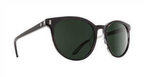 SPY Sunglasses Alcatraz  Black Horn - Happy Grey Green