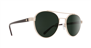 SPY Sunglasses Deco  Gold/Dark Tort - Happy Grey Green