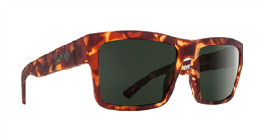 SPY Sunglass Montana Soft Matte Camo Tort - Happy Grey Green
