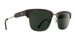 SPY Sunglasses Bellows  Dark Tort - Happy Grey Green