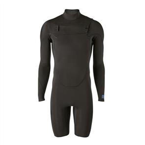 Patagonia Men's R1 Lite Yulex Front-Zip Long Sleeve Spring Suit, Black