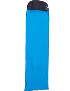 Curve Sup Sock Covers Fish, Blue Solid