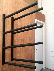 Curve SUP Wall Rack - Quad Steel