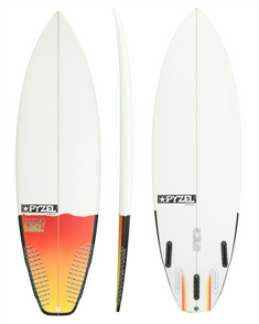Pyzel Sure Thing Board with 5 FCS II Fins