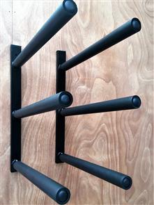 Curve SUP Wall Rack - Triple Steel