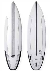 Surftech Pantera Fusion DualSurfboard -Core Surfboard - CustomWhite/Black