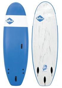 Softech Surfboards Zeppelin Soft Surfboard, Blue, 7'0