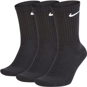Nike SB Mens Everyday Cushion Crew Sock, 3 Pack