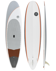 Tom Carroll Long Grain 2 Carbon Fusion Comp SUP, Grey, Size 10'0