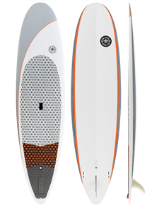 Tom Carroll Long Grain 2 Carbon Fusion SUP, Grey Orange