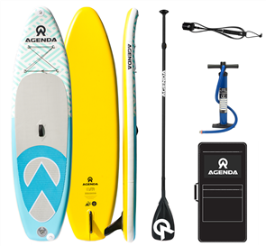 Agenda Tender Isup 10'6 Combo with F/Glass Paddle -2019 TM