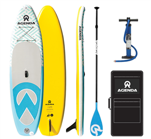 Agenda Tender ISup 10'6 Combo with Carbon Paddle
