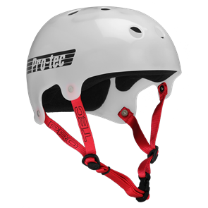 Protec Classic Bucky Helmet, Trans White
