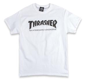 Thrasher Skate Mag S/S Tee White