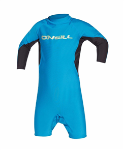 Oneill Toddler Ozone Long Arm Spring Suit, Sky Black Lime