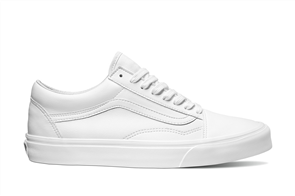 Vans Old Skool (Classic Tumble) White