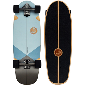 "SLIDE Gussie Triangu 31"" Surf Skateboard"