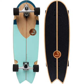 "SLIDE SW Noserider 33"" Surf Skateboard"