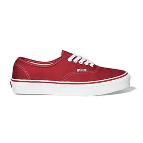 Vans Classics Plus Authentic Shoe, Red