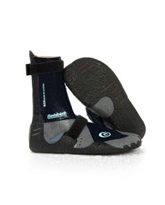 Rip Curl Womens Flashbomb 3mm Hid Split Toe Boots, 0090 Black