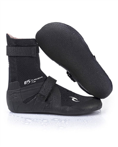 Rip Curl Flashbomb 3mm Hid, Split Toe B Boots, 0090 Black