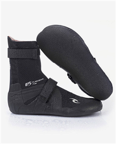 Rip Curl FBOMB 3MM NARROW H SPLIT TOE BOOTIE, BLACK