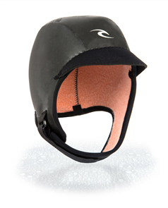 Rip Curl Flashbomb 3mm Cap, 0090 Black