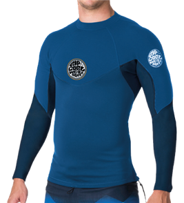 Rip Curl Boys Bomb Long Sleeve UV Tee, 0049 Navy