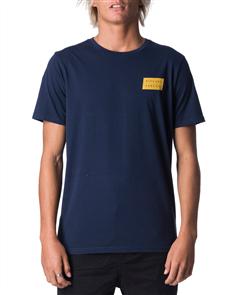 Rip Curl Undertow Stack Short Sleeve UV Tee, 0049 Navy