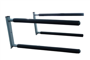 Curve SUP Wall Rack Double Aluminum