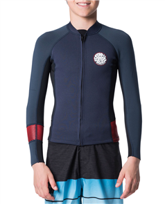 Rip Curl Junior.Aggro Long Sleeve Front Zip Jacket