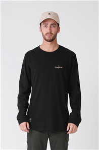 RPM Stock Long Sleeve Tee, Black