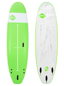 Softech Surfboards Zeppelin Soft Surfboard, Green
