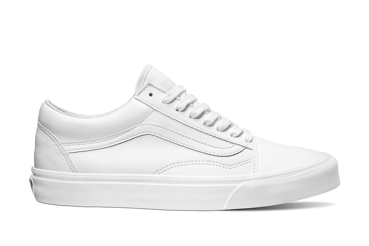 a99a6fef23e5e6 Vans Old Skool (Classic Tumble) White
